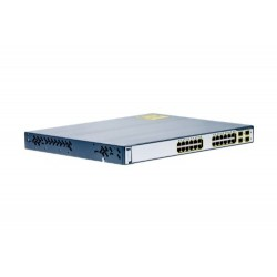 Cisco WS-C3750G-24PS-E Catalyst 3750G-24PS 24 Port POE 802.3af Switch