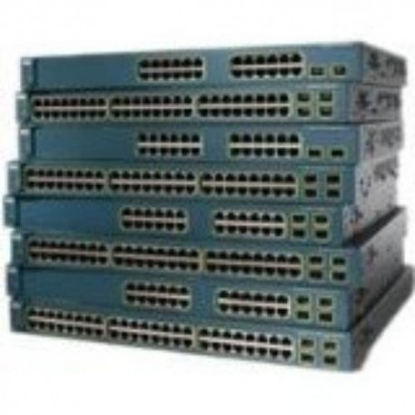 Cisco WS-C3750G-48TS-E Catalyst 3750G-48TS EMI 48 Port Switch