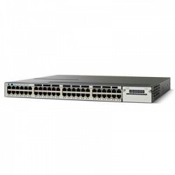Cisco 3750X Series WS-C3750X-48P-S 48 Ports Catalyst Switch