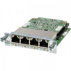 Cisco EHWIC‑4ESG - 4 Port WAN Interface
